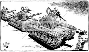 la presse la guerre dessin de haddad