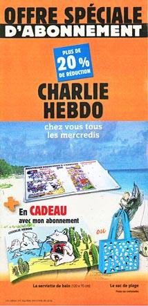 abonnement promo d'été Charlie hebdo
