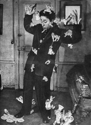 Albert Dubout pris d'assaut par ses personnages