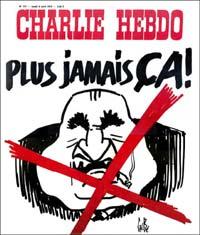 Plus jamais ça - Une Charlie Hebdo par Gébé