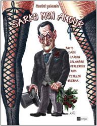 Sarko Mon amour, couverture, dessin de couverture de Kiro