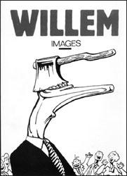 Couverture du catalogue de l'exposition Willem à Epinal.