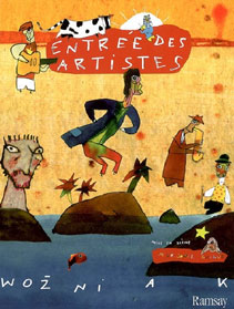 Wozniak - entrée des artistes