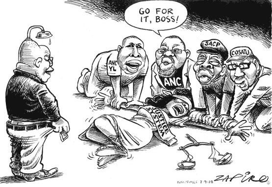 Dessin de Zapiro