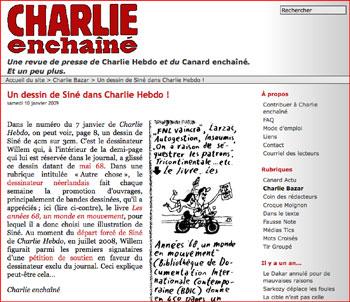 Site Charlie enchainé