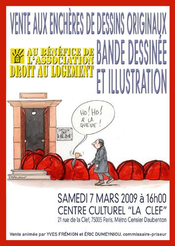 Affiche vente Dal 2009