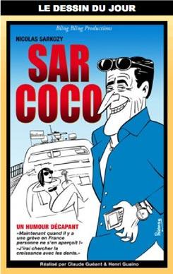 Nicolas Sarkozy dans Sarcoco par Parkman
