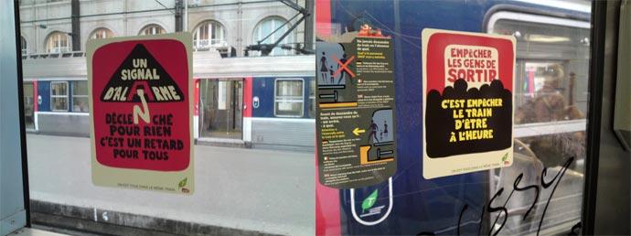Metro : affiches