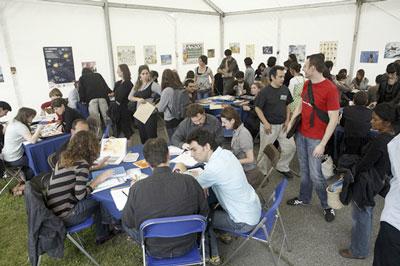 Organisées pour la première fois en 2008 celles-ci ont attiré 125 illustrateurs
