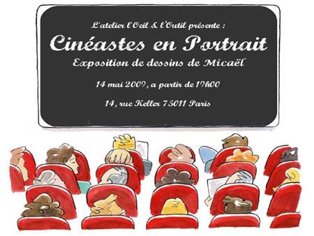 Affiche exposition Micael