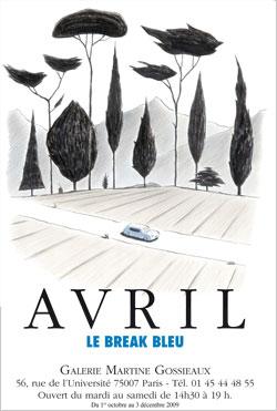 Affiche François Avril