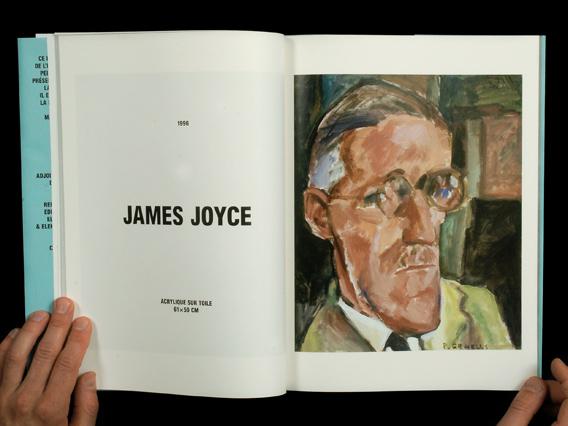 James Joyce - Peinture de Pancho