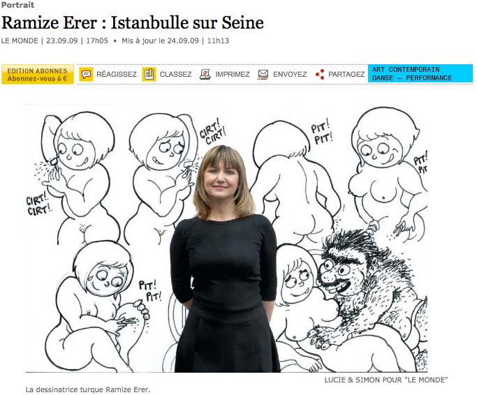 Ramize Erer article dans lemonde