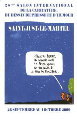 St just 2009 - Affiche de Pessin