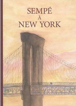 """couverture du livre """"Sempé à New-York"""""""