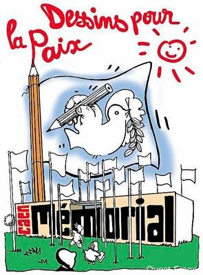 M morial de la paix et du dessin de presse fait d 39 images le blog de fran ois forcadell sur - Dessin sur la paix ...