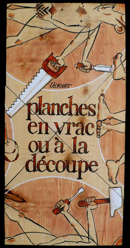 Planches en vrac ou à la découpe - Etienne Lécroart